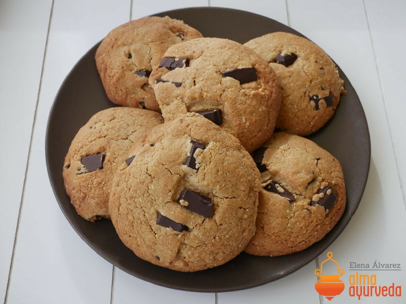 cookies sin gluten ayurveda