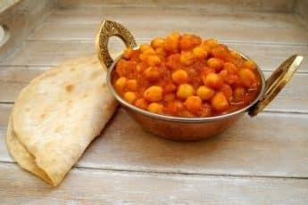 Chani Masala y Chapati