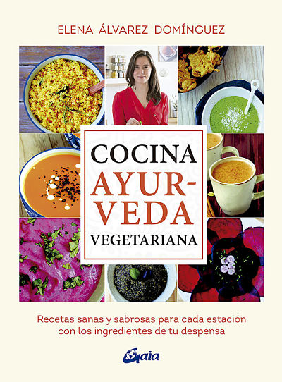 Libro Cocina Ayurveda Vegetariana